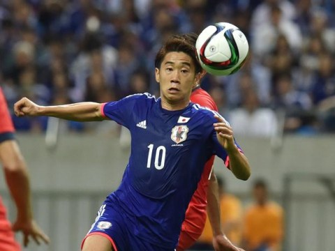 Manchester United misfit Shinji Kagawa scores beautiful 25-yard goal for Japan