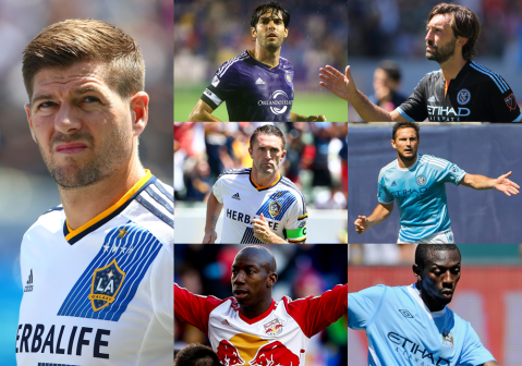 MLS player salaries revealed: Steven Gerrard, Kaka and Frank Lampard all feature but who is the top earner?