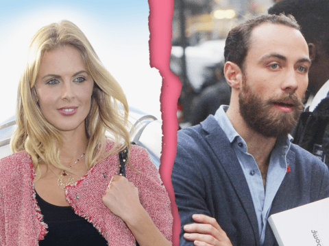 Donna Air and James Middleton 'split shortly after final appearance at Pippa's wedding'