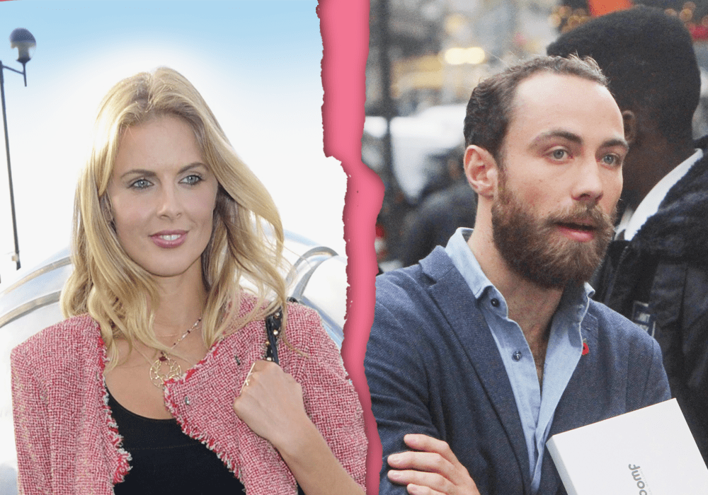James Middleton splits with Donna Air Source: Rex