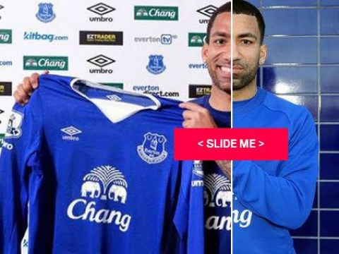 Aaron Lennon has finally learned to smile after re-joining Everton