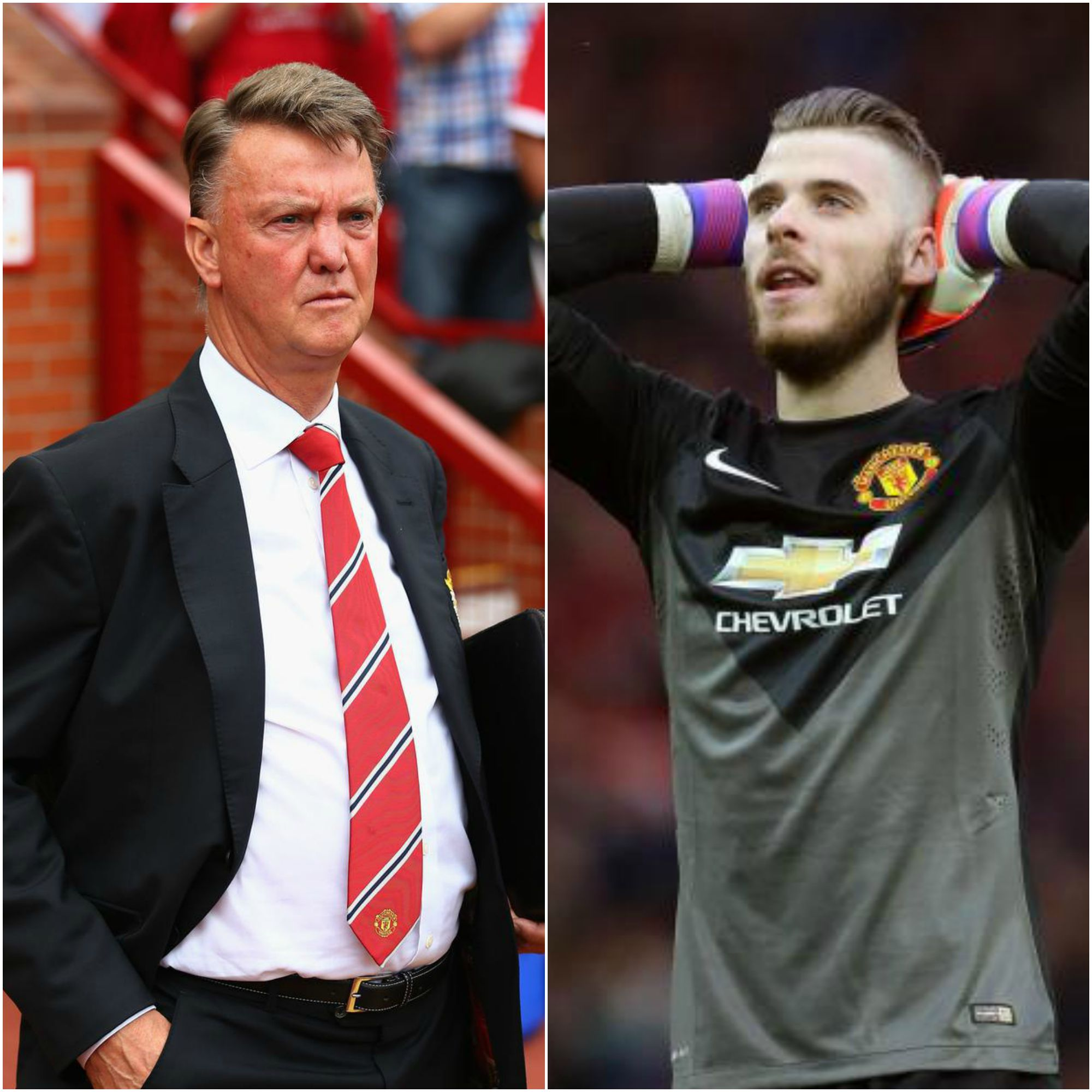 Louis van Gaal willing to force David De Gea to sign new contract by refusing to play him otherwise – report