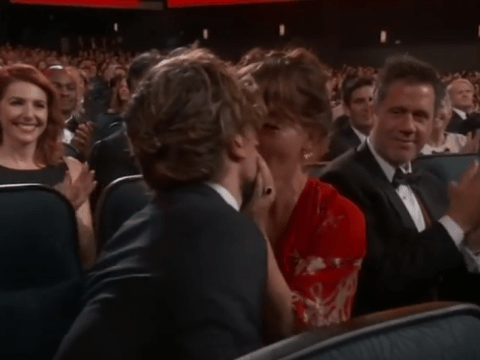 Did Peter Dinklage spit his gum into his wife's mouth through shock of Game Of Thrones Emmy win?
