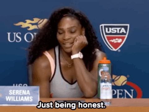 Serena Williams brilliantly shuts down journalist who asked why she wasn't smiling