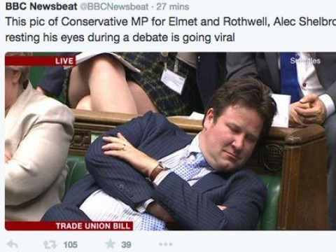 BBC apologises after accusing partially deaf MP of 'resting his eyes' in Parliament