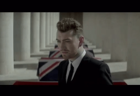 Sam Smith releases a snippet of official video to accompany Spectre soundtrack