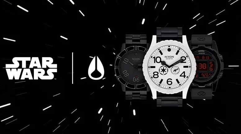 Somebody designed a series of 'Empire' themed Star Wars watches…