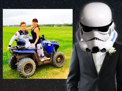 This guy gave up a role in Star Wars to be with his fiancée