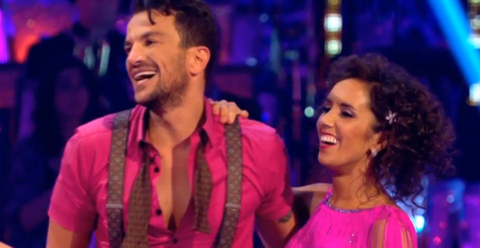 Kay Burley lashes out at Peter Andre as he performs on Strictly Come Dancing