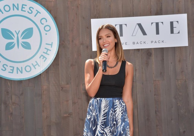Jessica Alba The Honest Company And STATE Bags Celebrate Back To School With Head Start Charley Gallay/Getty Images for The Honest Comp