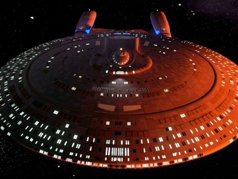 A Star Trek fan has created a mind-blowing virtual 3D tour of the USS Enterprise