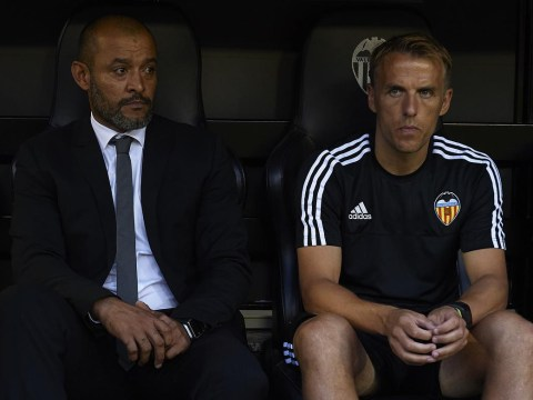 Could former Manchester United and Everton star Phil Neville be about to become Valencia manager?