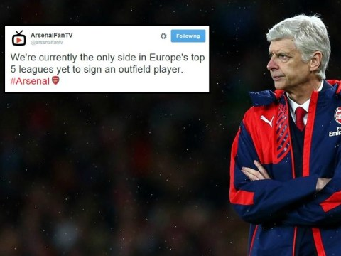 Arsenal end transfer window as only side in Europe's top five leagues not to sign an outfield player