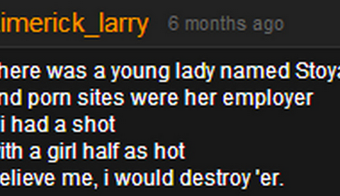 The weirdest, most irrelevant comments on Pornhub that have nothing to do with porn