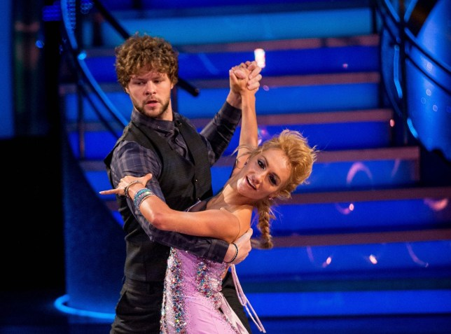 Strictly Come Dancing 2015 - TX: 17/10/2015 - Jay McGuiness, Aliona Vilani - (C) BBC - Photographer: Guy Levy