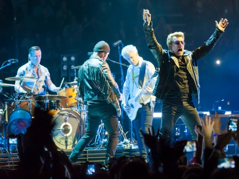 Watch: Noel Gallagher joins U2 onstage to cover The Beatles' All You Need Is Love