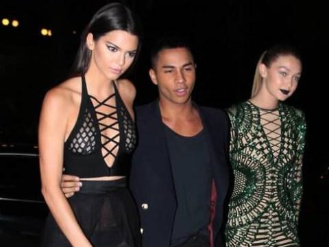Kendall Jenner got cheeky at Paris Fashion Week