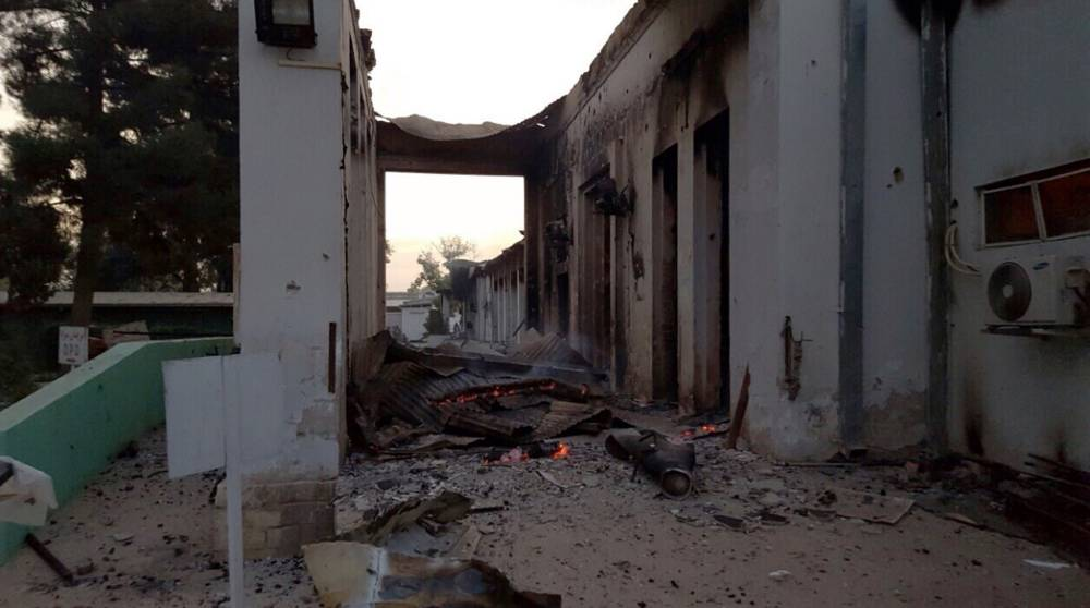 Medecin sans Frontieres withdraws from Afghan city after hospital hit by air strike