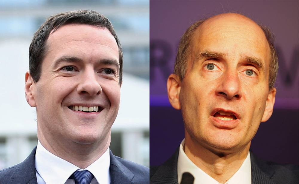 George Osborne poaches former Labour cabinet minister Lord Adonis