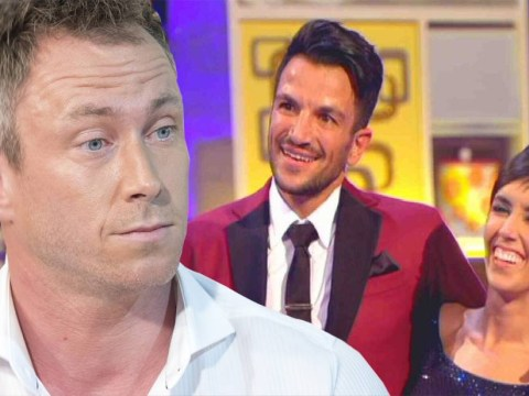 James Jordan thinks Strictly Come Dancing is unfairly favouring Peter Andre as his wife Ola and Iwan Thomas are the first out