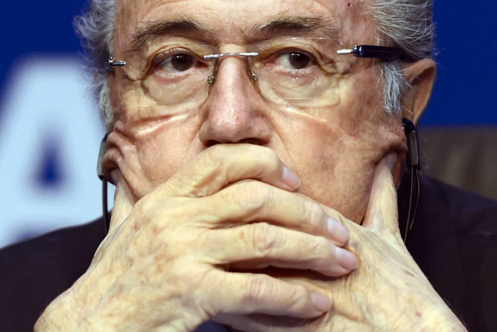 Fifa president Sepp Blatter provisionally suspended for 90 days