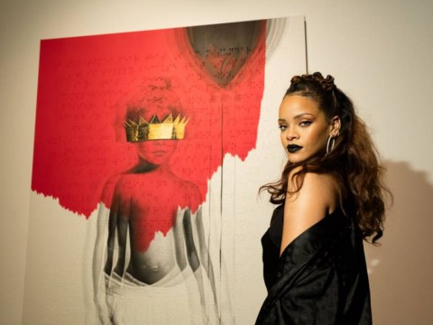 Rihanna unveils bizarre new cover art for eighth album Anti