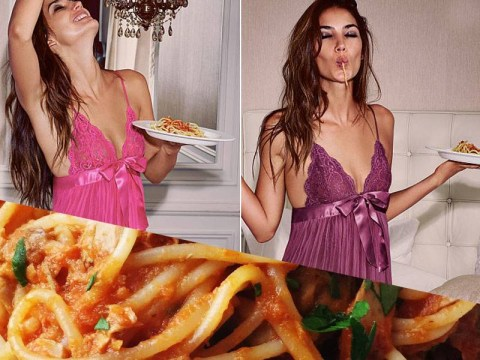 Spaghetti is the latest big fashion trend, apparently