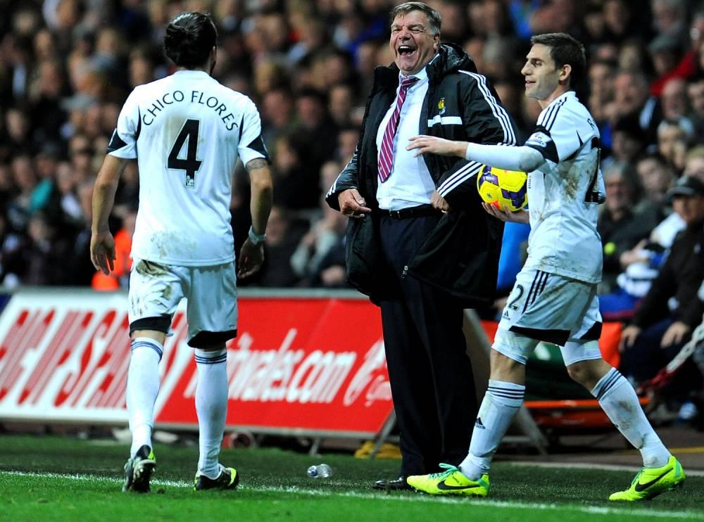 Sam Allardyce says he loved beating Arsenal and arrogant Arsene Wenger