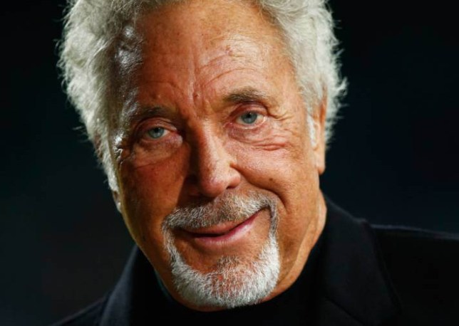 Singer Sir Tom Jones is interviewed prior to the 2015 Rugby World Cup Pool A match between England and Wales at Twickenham Stadium on September 26, 2015 in London, United Kingdom. (Photo by Mike Hewitt/Getty Images)
