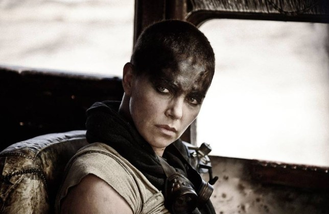 No Merchandising. Editorial Use Only. No Book Cover Usage.. Mandatory Credit: Photo by Warner Bros/Everett/REX Shutterstock (4770834e).. Charlize Theron.. Mad Max: Fury Road - 2015.. ..
