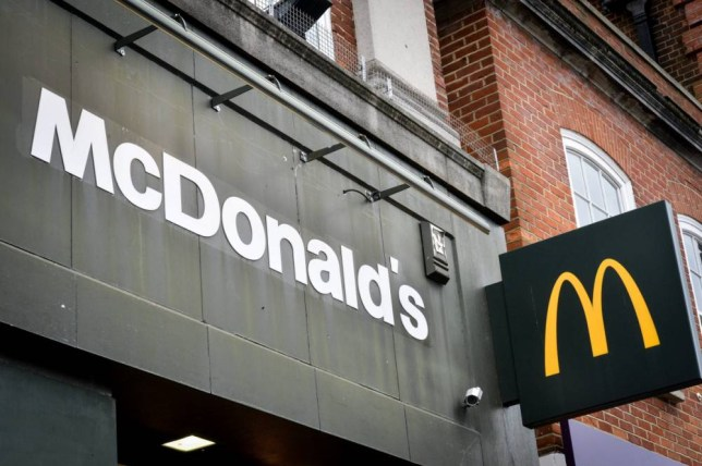 """FILE PICTURE - GV of a McDonalds. A Nottinghamshire man was rushed to hospital with food poisoning after eating a """"green egg"""" which, he says, was in a McDonald's sandwich. See NTI story NTIMUFFIN. Alan Evans made the gruesome discovery after visited the restaurant's Bulwell branch last Thursday and said he had been laid up in bed ever since. He said it was only when he decided to put barbecue sauce on his McMuffin breakfast sandwich that he saw the discoloured egg and immediately stopped eating. But within hours, Mr Evans began to be sick, and he says this continued for more than five days. After he was unable to hold down a glass of water, his partner contacted an NHS helpline, which sent out a private ambulance on Tuesday evening."""
