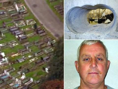 Loot from the £20m Hatton Garden heist found buried in London graveyard