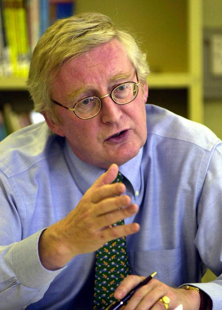 """File photo dated 02/06/03 of former Labour minister Lord Warner, who has resigned the whip in protest at the party's shift to the left under Jeremy Corbyn, claiming it was no longer a """"credible"""" alternative government. PRESS ASSOCIATION Photo. Issue date: Tuesday October 20, 2015. The former health minister quit with a warning that """"I fear for Labour's future"""" if activists loyal to the leader gain greater control. See PA story POLITICS Labour. Photo credit should read: Rui Vieira/PA Wire"""