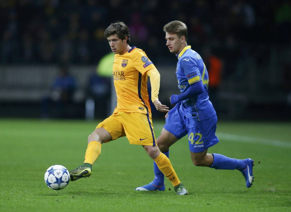 Why Barcelona's Sergi Roberto could be a surprise Premier League addition in the January transfer window