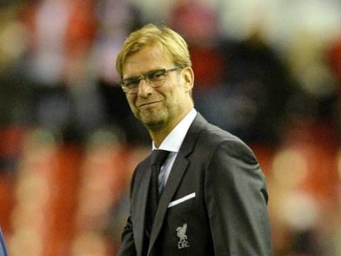Jurgen Klopp offers his first celebration as Liverpool manager after goal v Rubin Kazan, it's much better than Brendan Rodgers'