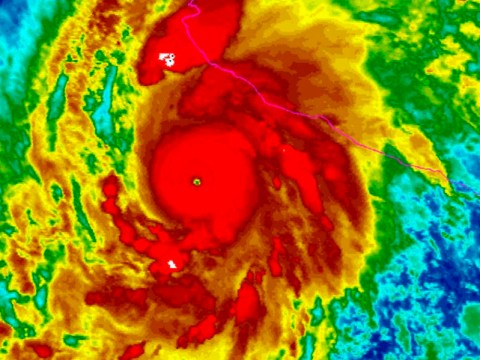 Hurricane Patricia is about to hit Mexico and it's 'strong enough to launch and support a plane'