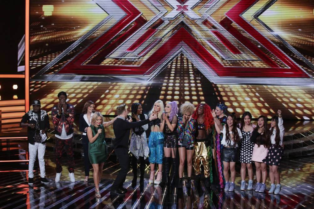 The X Factor: Saturday night Judges Houses and Simon and Cheryl have to choose three acts to take to the Live Shows