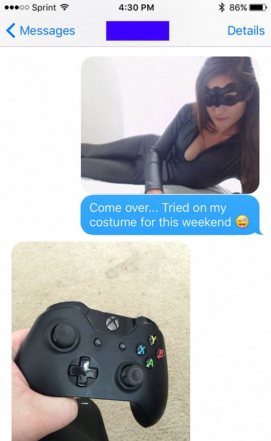 Gamer Rejects His Sexy Girlfriend After Attempting To Get Him To Come Over