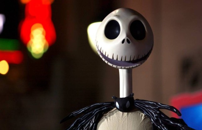 Mandatory Credit: Photo by Picture Perfect/REX Shutterstock (616174af).. Jack Skellington character.. 'Nightmare Before Christmas 3D' Film Premiere, Los Angeles, America - 16 Oct 2006.. ..