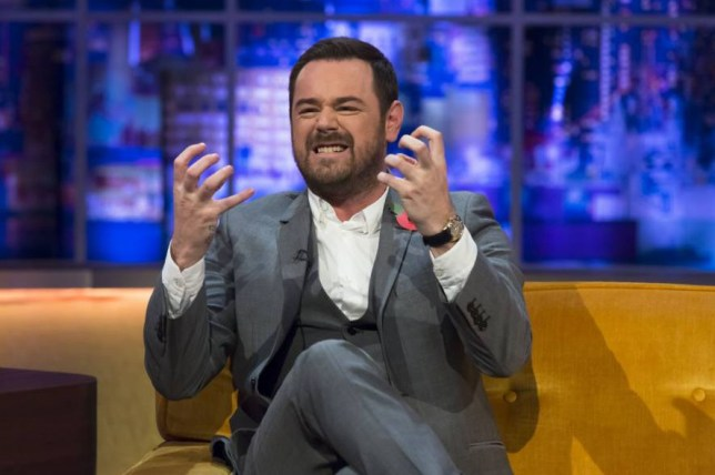 **STRICTLY EMBARGOED UNTIL 00.01 FRIDAY 30TH OCTOBER 2015** Editorial Use Only. No merchandising Mandatory Credit: Photo by Brian J Ritchie/Hotsauce/REX Shutterstock (5324218aq) Danny Dyer 'The Jonathan Ross Show' TV Programme, London, Britain - 31 Oct 2015 PRISCILLA PRESLEY opens up about her marriage to Elvis Presley and reveals she spoke to him days before his untimely death. She also talks about him being germophobic. ELVIS COSTELLO plays a special rendition of ?The King of Rock?s? song, Don?t on Presley?s personal guitar from 1956. DANNY DYER speaks about being desperate for work before his role in EastEnders came up and teases ahead to the Christmas special which sees him wear a wetsuit. ROB BECKETT speaks about becoming a dad!