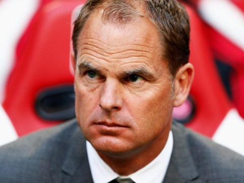 Frank De Boer talks up prospect of managing Liverpool