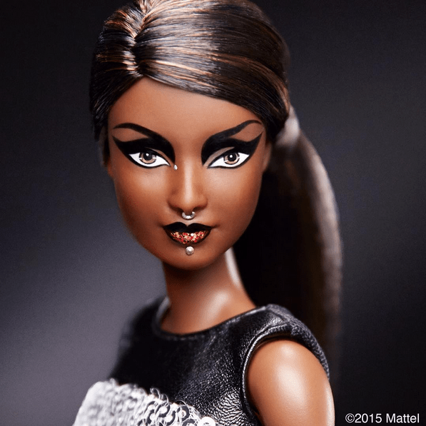 barbie goes badass with a makeover from Pat McGrath