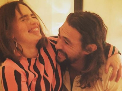 Daenerys Targaryen was reunited with her Game Of Thrones lover Khal Drogo and it was the cutest