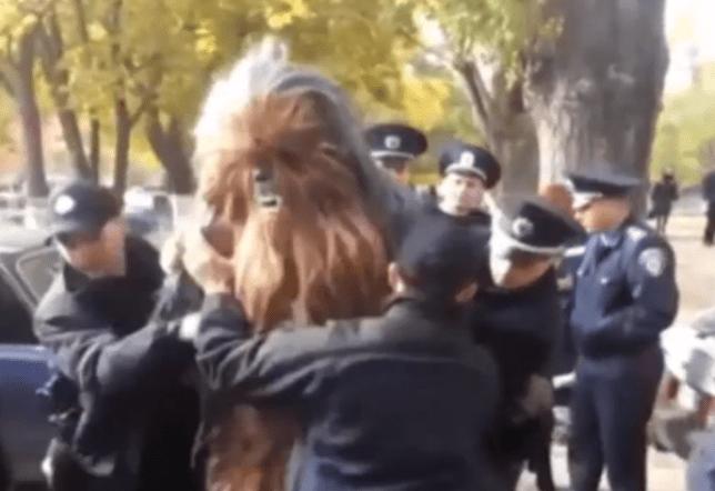 chewie arrest