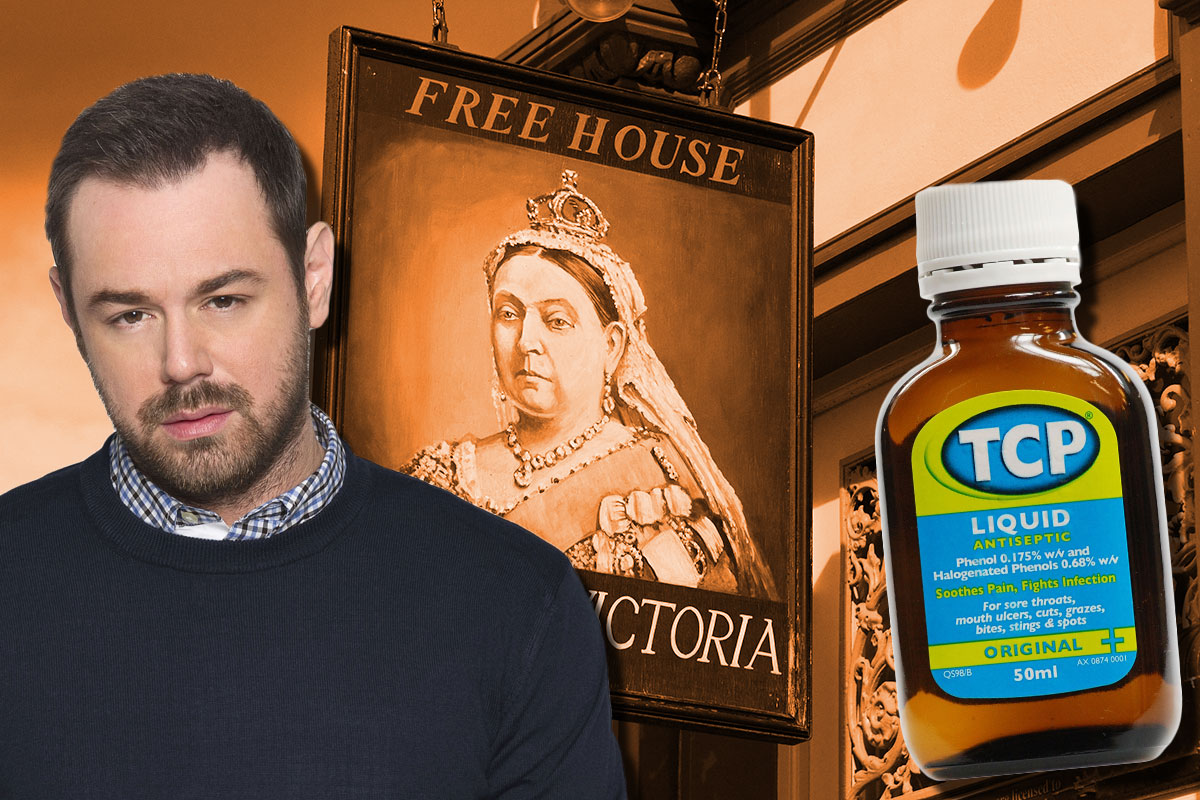 Danny Dyer TCP in EastEnders taps story