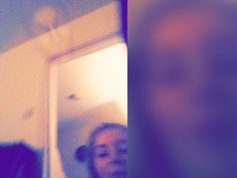 'Ghost' captured in a selfie just a few days before Halloween