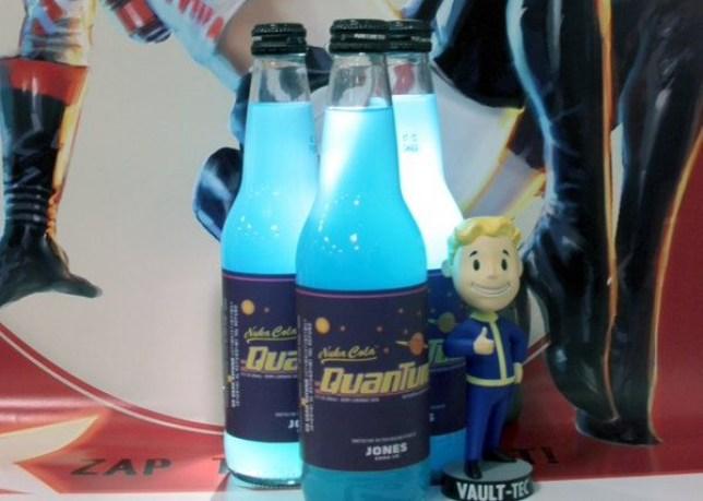 A healthy blue glow