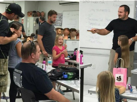 This single dad created a class to teach other dads how to do their daughters' hair