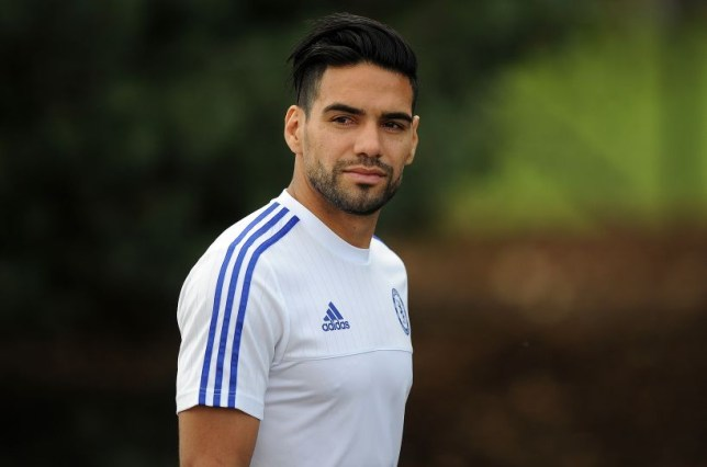 Falcao Chelsea Press conference and training 31/07/15: Kevin Quigley/Daily Mail/Solo Syndication