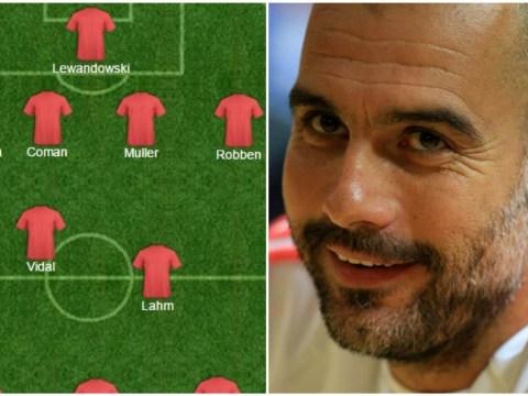Bayern Munich boss Pep Guardiola goes full Garth Crooks with 3-2-5 formation